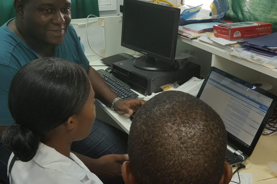 Reaching Health Standards and Creating a Client Registry in Haiti